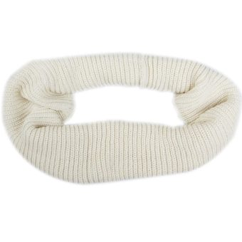 Winter Knitting Scarf Shawl Beige (Intl)
