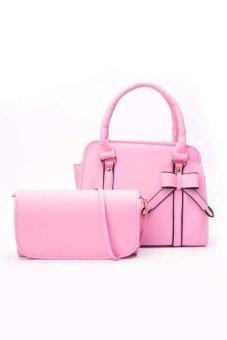 Bộ 2 túi ví nữ thời trang DaH2 CB0001 (Hồng)