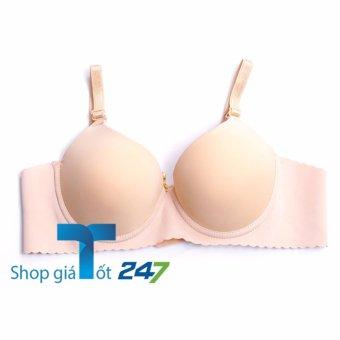 Áo Lót Đúc Ngực Su Gợn Sóng Cao Cấp CARE -SOFT ( da)