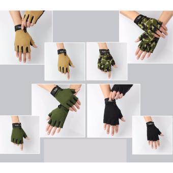 Combo 04 đôi găng tay phượt 5.11 thời trang