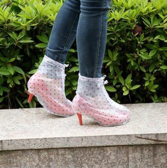 Ủng đi mưa thời trang bảo vệ giày cao gót siêu bền đẹp