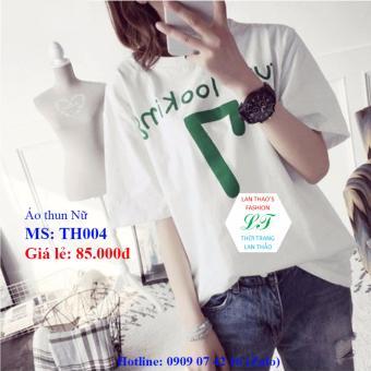 Áo thun Nữ mẫu mới Ver4 TG004 (TRẮNG)