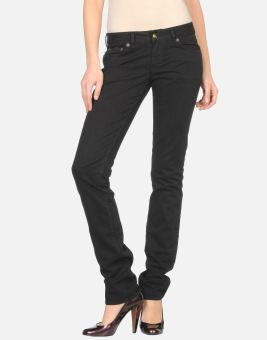 Quần Jeans Nữ Just Cavalli Skinny Style (Đen)