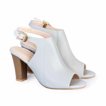 Giày cao gót nữ 9cm Hùng Cường HC1302 (Xanh)