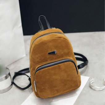 Backpack Women Fashion Backpack Rucksack Girls School Book Shoulder Bag Yellow - intl