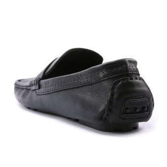 Giày nam da thật cao cấp Da Giày Việt Nam VNLMOS9A076D (Đen).