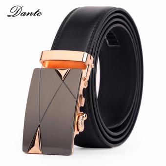 Thắt lưng da nam Dante - L004 (đen)