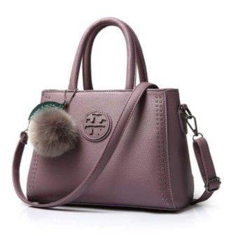 Túi xách nữ da cao cấp PG BAG T6969-23-2A3 TÍM