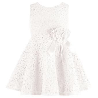 New Lovely Girls Sleeveless Lace Dress - intl