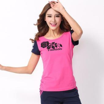Bộ đồ Rose Fashion LADOS-157 (Hồng).