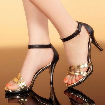 Giày cao gót siletto CG490 (Vàng)