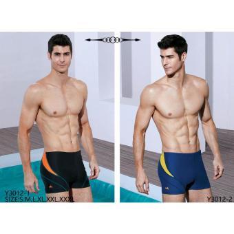Quần bơi Yingfa Y3012-1 (đen vát cam)