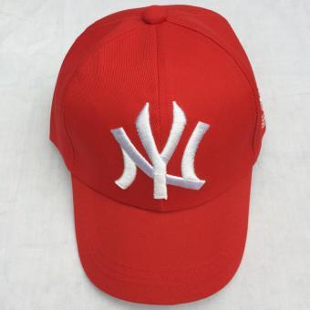 Mũ hiphop Newyork đỏ MANA182