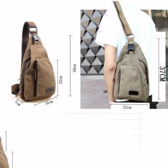 Túi đeo trước ngực thời trang (Nâu)