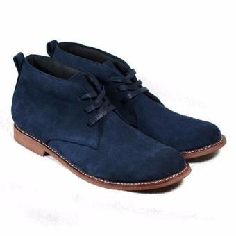 Boots cổ lửng Tathanium Footwear TFNVS8802 (Xanh Navy)