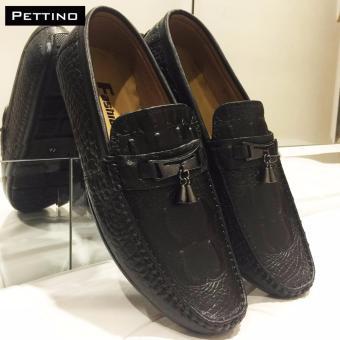Giày Lười Nam Cao Cấp - Pettino GL-06 (đen)
