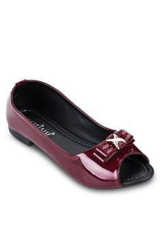 Giày búp bê srs862 màu đô