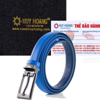 HL5118 - Thắt lưng nữ Huy Hoàng màu xanh dương