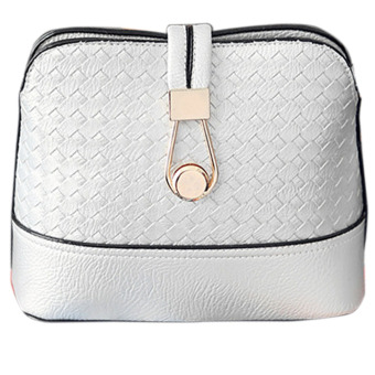 Women shell bag cross body bag(white) - intl