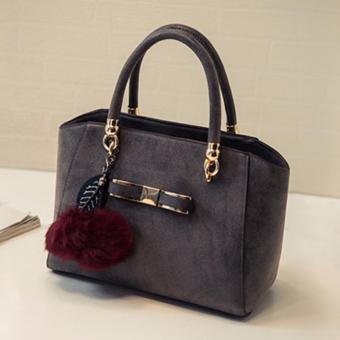 Túi xách nữ cao cấp phong cách Hàn Quốc JLD089 (Xám) - 3709788