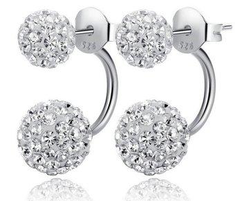 Bông tai bạc kim cương cao cấp