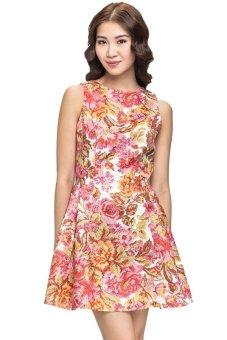 Đầm họa tiết floral Love
