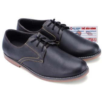 HL7160 - Giày nam thời trang huy hoàng màu đen