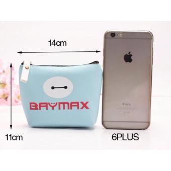 Túi baymax mini ngộ nghĩnh ( xanh dương)
