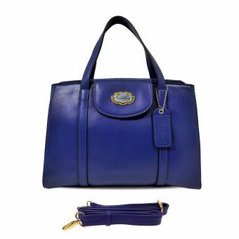 Túi xách tay nữ Carlo Rino 0303117-101-13 (xanh dương đậm)