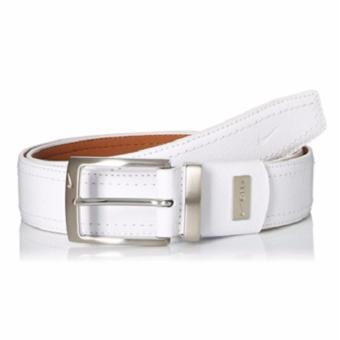 Thắt lưng (nịt) thể thao nam da thật cao cấp Nike Men's G-flex Pebble Grain Leather Belt (Mỹ)