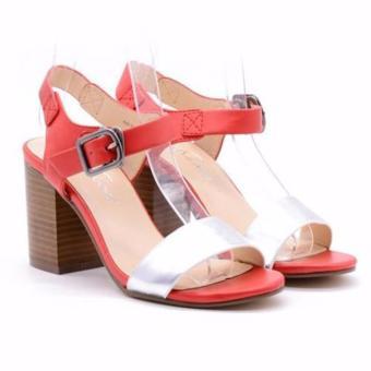 Sandal cao gót Evashoes Eva0668 Đỏ