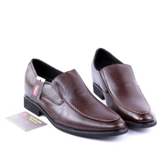 Giày tăng chiều cao nam da giày việt nam vnlyp0a7n (Nâu).