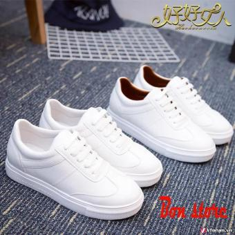 Giày nữ sneaker thời trang(Trắng)
