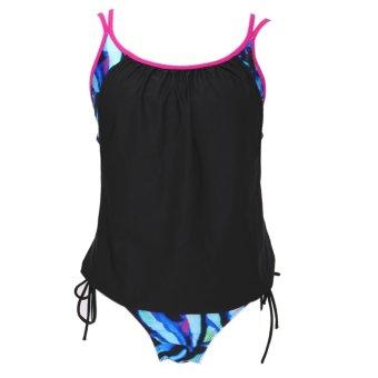 Women Push Up Padded Swimwear One Piece Swimsuit Beachwear - intl