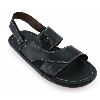 Giày Sandals Nam F023 (Đen)
