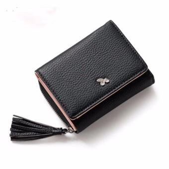 Bóp ví nữ thời trang Weichan chính hãng 577-2 Win Win Shop - Đen