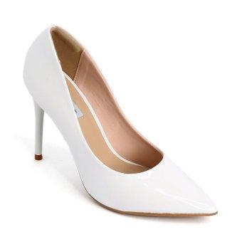 Giày nữ Sata&Jor SJ0022 - Trắng bóng