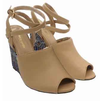 Giày sandals cao gót Pierre Cardin SB056-BEIGE