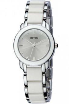Đồng hồ nữ dây kim loại Kimio K455 (Trắng)