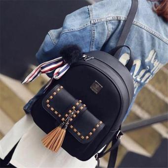 Ba Lô Nữ QC thời trang cao cấp LyLyFashion (đen)