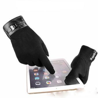 Găng tay nam thời trang cao cấp (Đen)