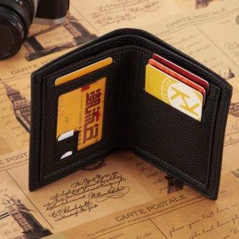 Ví da nam kiểu ví đứng thời trang Lym Home L006 (đen)