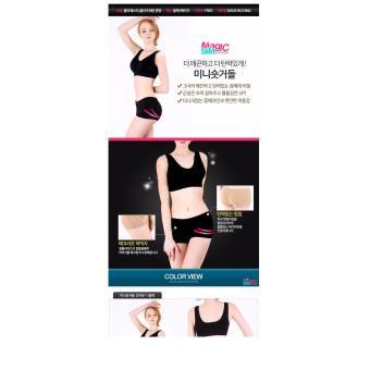 Quần short tạo dáng ôm mông/ quần tập Gym Hàn Quốc màu đen
