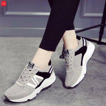 Giày Sneaker Thời Trang nữ Erosska - GN024 (Xám)