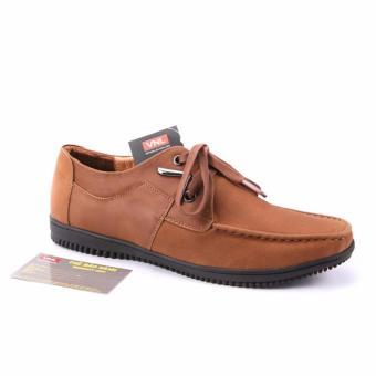 Giày lười nam da thật chính hãng Da Giày Việt Nam VNL4L62B (Nâu)