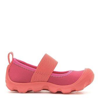 Giày lười trẻ em Unisex Crocs Duet Busy Day Mary Jane PS Coral Raspberry 15353-6MO (Hồng)