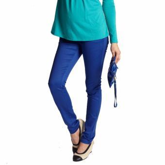 MEV Quần bầu Mothers En Vogue - Sexy Skinny Jeans Underbelly - L - Cobalt Blue