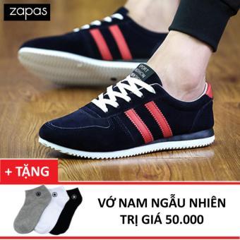 Giày Sneaker Zapas GS042 (Xanh) + Tặng Vớ Nam