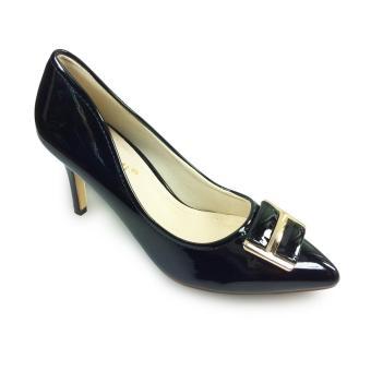 Giày bít cao gót 8f đính khoá