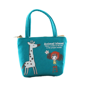 Fancyqube New Cute Cartoon Print Shopping Bag Handbag 01 (Intl)